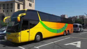 Москва - Ереван - автобус